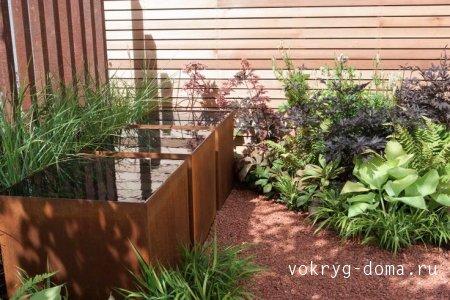 Гармония сада.Водоемы в архитектуре ландшафта